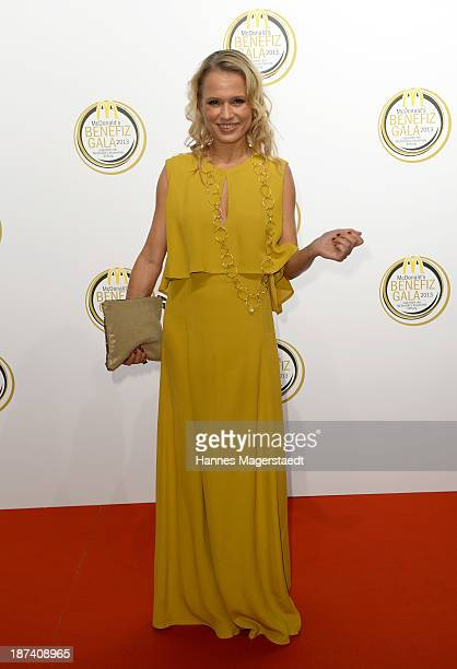 Nova Meierhenrich attends the charity gala in favor of 'McDonald's Kinderhilfe Stiftung' at Postpalast on November 8 2013 in Munich Germany