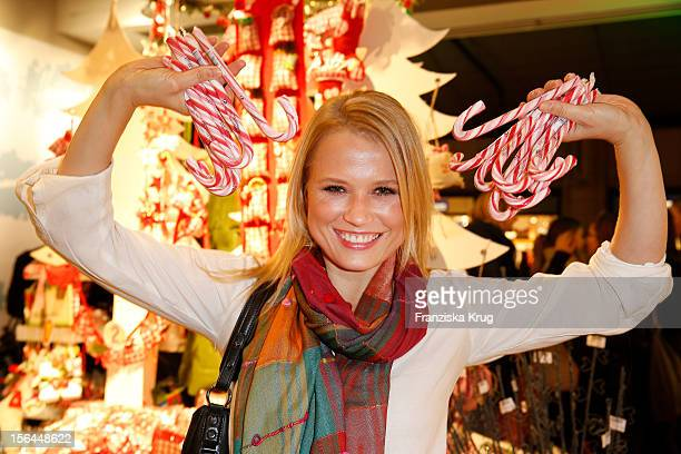Nova Meierhenrich attends the DEPOT Christmas shopping Event at the DEPOT Store on November 15 2012 in Hamburg Germany