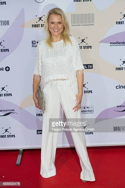Nova Meierhenrich attends the 'First Steps Award 2014' at Stage Theater on September 15 2014 in Berlin Germany