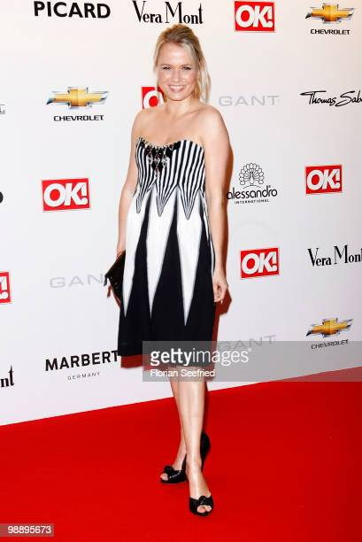 Nova Meierhenrich attends the 'OK Style Award 2010' at the british embassy on May 6 2010 in Berlin Germany