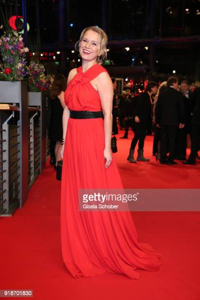 Nova Meierhenrich attends the Opening Ceremony 'Isle of Dogs' premiere during the 68th Berlinale International Film Festival Berlin at Berlinale...