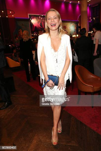 Nova Meierhenrich during the BUNTE BMW Festival Night 2018 on the occasion of the 68th Berlinale International Film Festival Berlin at Restaurant...