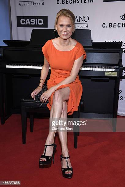 Nova Meierhenrich during the 'Casio Celviano Grand Hybrid Digital Piano Launch Gala' at Meistersaal on September 2 2015 in Berlin Germany