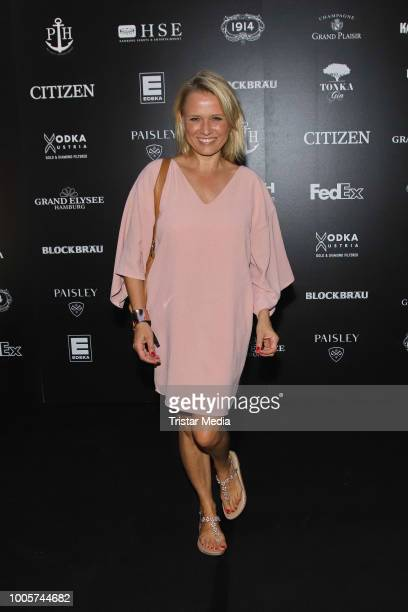 Nova Meierhenrich during the German Open Players Party on July 25 2018 in Hamburg Germany