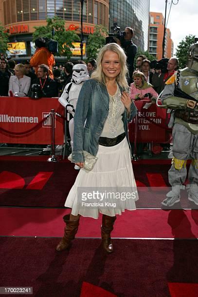 Nova Meierhenrich In Germany at Premiere Of Star Wars Episode Iii Revenge of the Sith the theater at Potsdamer Platz Berlin