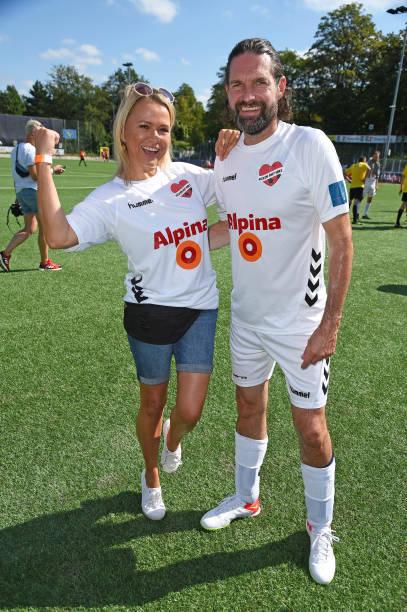 """DEU: """"Kicken mit Herz"""" Charity VIP Football Match In Hamburg"""