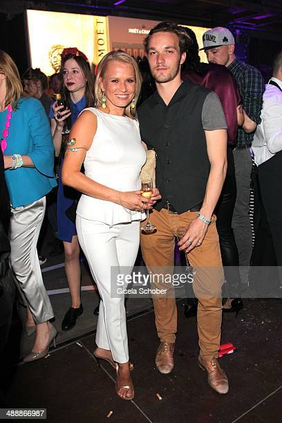 Nova Meierhenrich, Max Woelky attend the New Faces Award - Film - 2014 at e-Werk on May 8, 2014 in Berlin, Germany.