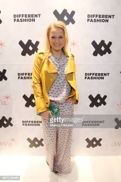Nova Meierhenrich poses during the Different Fashion store opening on March 23 2017 in Hamburg Germany