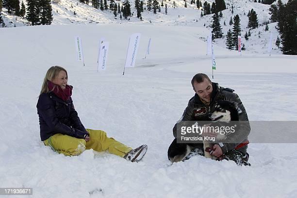 Nova Meierhenrich Und Feund Max Woelky Beim Tirol Cross Mountain 2011 In Kühtai