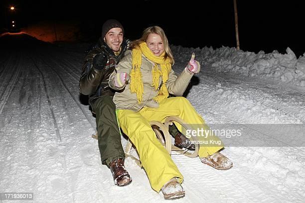 Nova Meierhenrich Und Freund Max Woelky Beim Tirol Cross Mountain 2011 In Kühtai