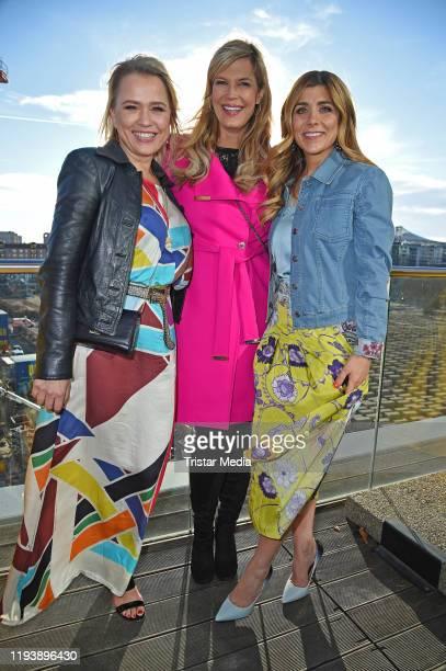 Nova Meierhenrich Verena Wriedt and Panagiota Petridou attend the Thomas Sabo Spring/Summer 2020 press Cocktail during Berlin Fashion Week...