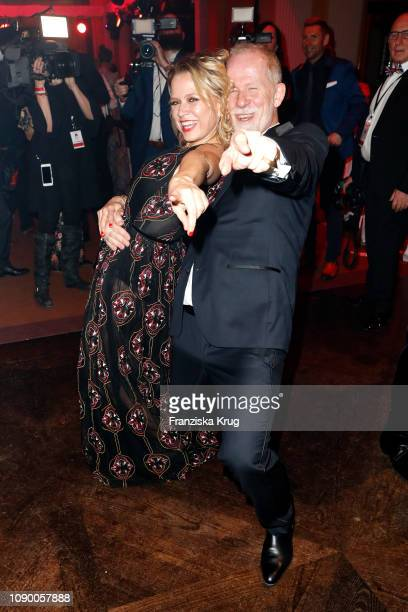 Nova Meierhenrich Vincent de la Tour during the 46th German Film Ball at Hotel Bayerischer Hof on January 26 2019 in Munich Germany