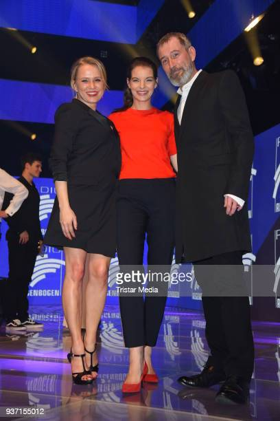 Nova Meierhenrich Yvonne Catterfeld and Heikko Deutschmann attend the Radio Regenbogen Award 2018 on March 23 2018 in Rust Germany
