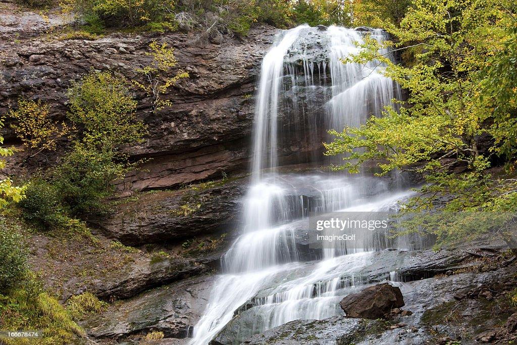 Nova Scotia Waterfall : Stock Photo