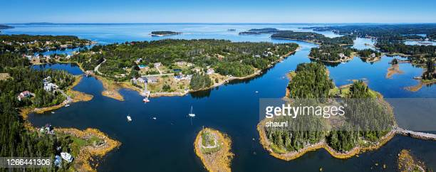 nova scotian coastline - atlantic ocean stock pictures, royalty-free photos & images