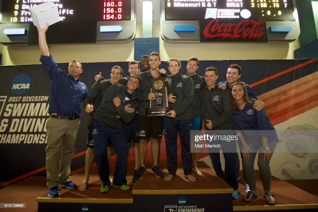 Nova Southeastern placed third during the Division II Men's and Women's Swimming & Diving Championship held at the Birmingham CrossPlex on March 11, 2017 in Birmingham, Alabama.