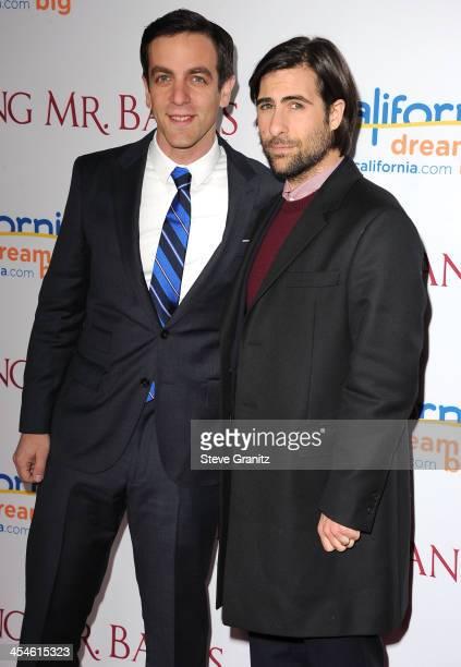 "Novak and Jason Schwartzman arrives at the ""Saving Mr. Banks"" - Los Angeles Premiere at Walt Disney Studios on December 9, 2013 in Burbank,..."