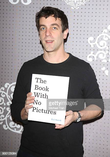 J Novak at his book signing held at Children's Book World on December 5 2015 in Los Angeles California