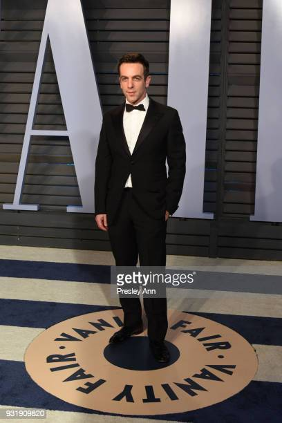 J Novak attends 2018 Vanity Fair Oscar Party Hosted By Radhika Jones Arrivals at Wallis Annenberg Center for the Performing Arts on March 4 2018 in...
