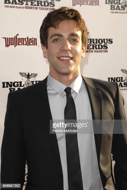 J Novak attends 'Inglourious Basterds' Premiere at Grauman's Chinese Theater on August 10 2009 in Los Angeles California