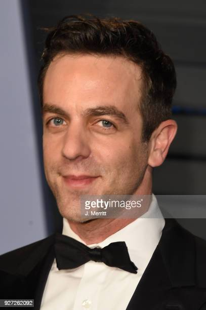 Novak attends the 2018 Vanity Fair Oscar Party hosted by Radhika Jones at the Wallis Annenberg Center for the Performing Arts on March 4 2018 in...