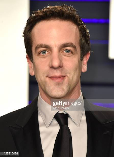B J Novak attends the 2019 Vanity Fair Oscar Party hosted by Radhika Jones at Wallis Annenberg Center for the Performing Arts on February 24 2019 in...