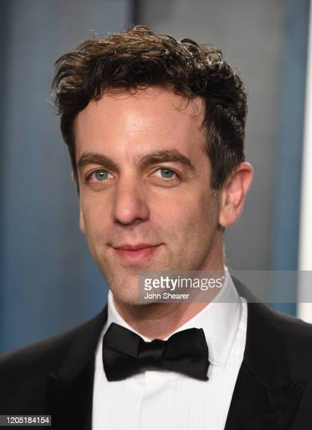 Novak attends the 2020 Vanity Fair Oscar Party hosted by Radhika Jones at Wallis Annenberg Center for the Performing Arts on February 09, 2020 in...