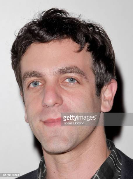 J Novak attends the 'Saving Mr Banks' special screening and QA with BJ Novak at Pacific Theatre at The Grove on December 18 2013 in Los Angeles...