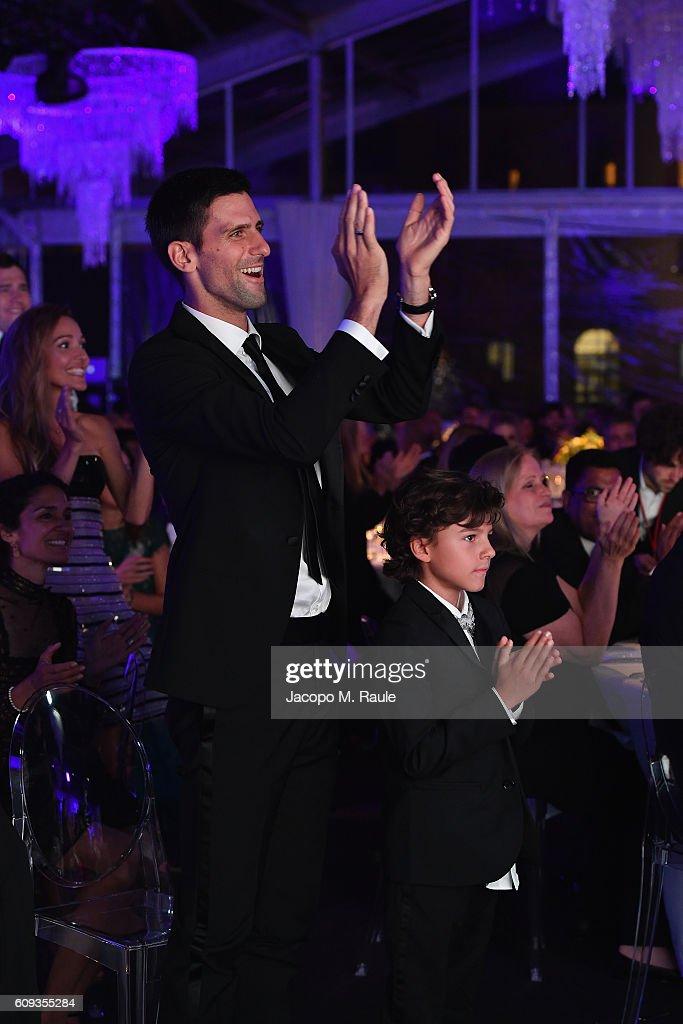 Tennis Meets Fashion At The Milano Gala Dinner Benefitting The Novak  Djokovic Foundation Presented By Giorgio 66605cdc2f6
