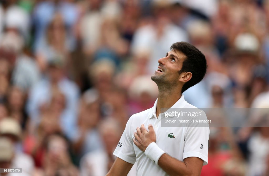 Wimbledon 2018 - Day Twelve - The All England Lawn Tennis and Croquet Club : News Photo