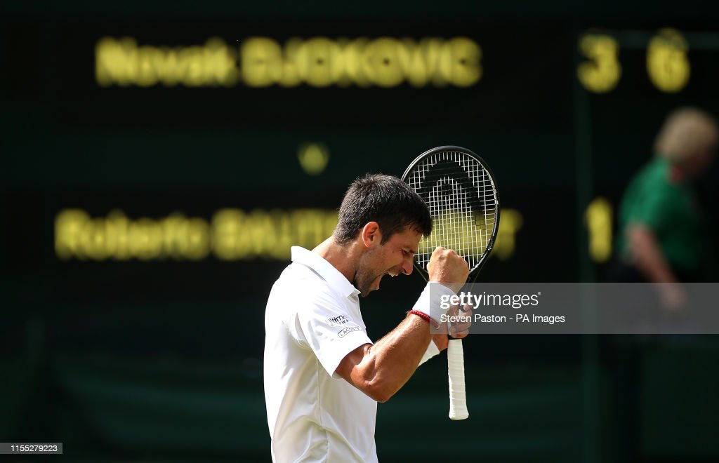Wimbledon 2019 - Day Eleven - The All England Lawn Tennis and Croquet Club : News Photo