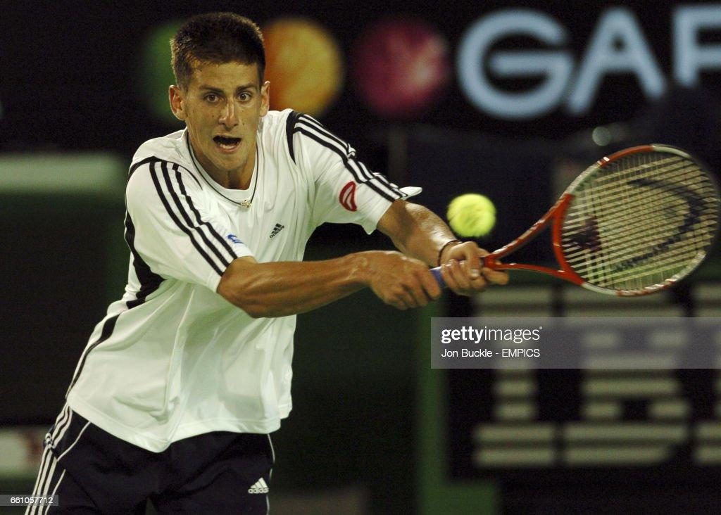 Tennis - Australian Open 2005 - Men's First Round : News Photo