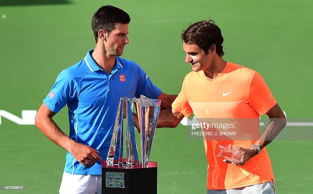 SPO-TENNIS-ATP-WTA-BNP-PARIBAS-OPEN : News Photo