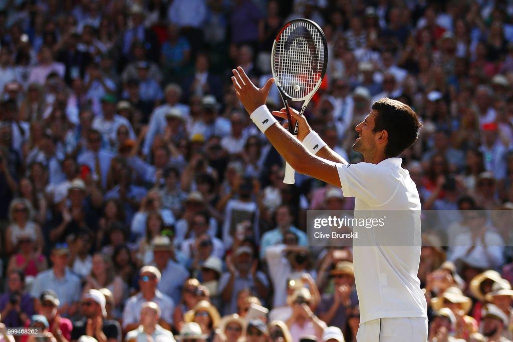 Day Thirteen: The Championships - Wimbledon 2018 : ニュース写真