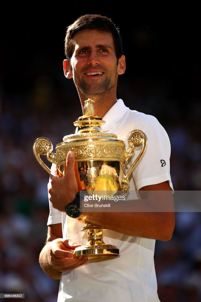 Djokovic beats Anderson in Men's Singles Final at Wimbledon