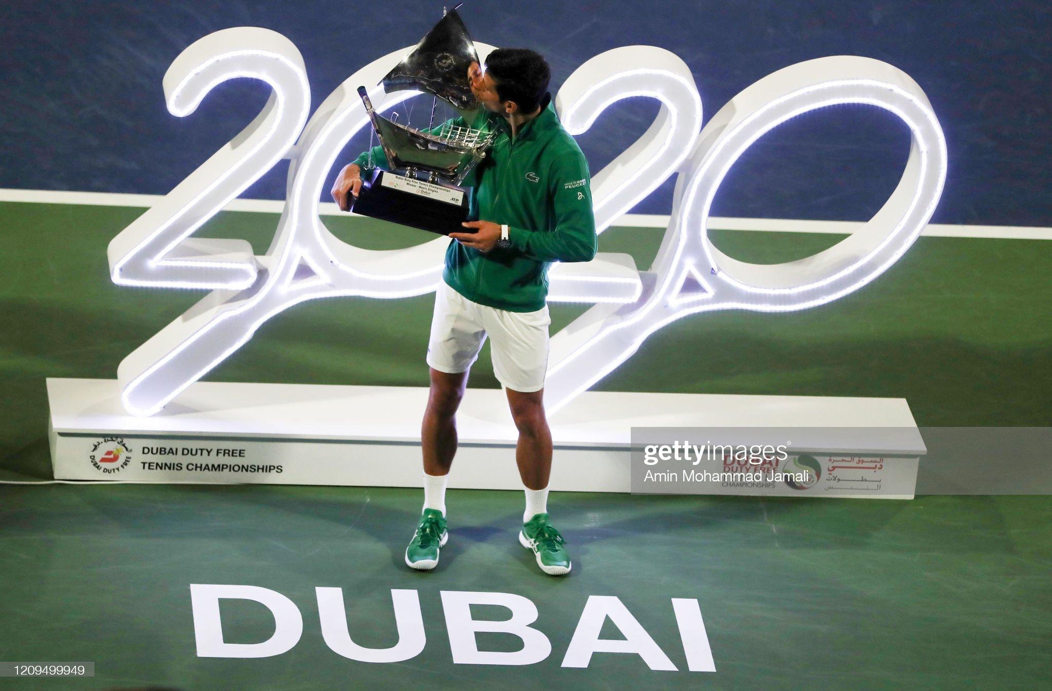 Dubai Duty Free Tennis - Day 13 : News Photo