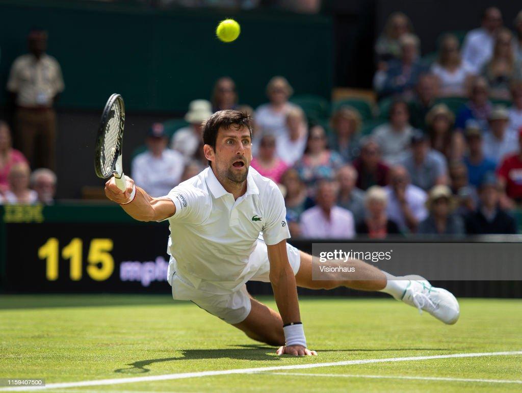 Day One: The Championships - Wimbledon 2019 : Nachrichtenfoto