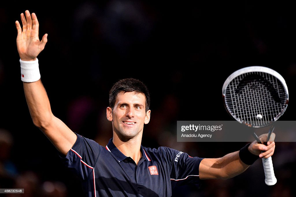 BNP Paribas Masters - Novak Djokovic v Kei Nishikori : News Photo