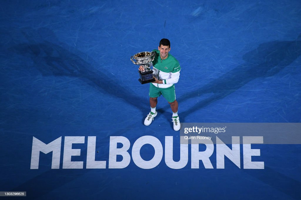 2021 Australian Open: Day 14 : News Photo