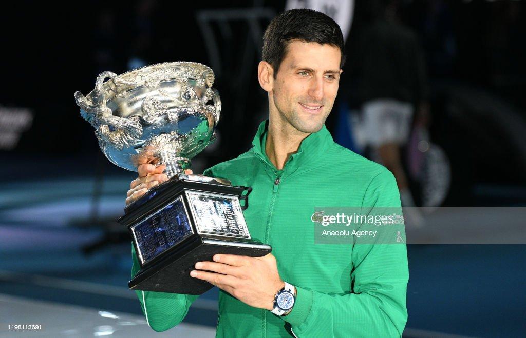 Tennis: Djokovic wins 2020 Australian Open : News Photo