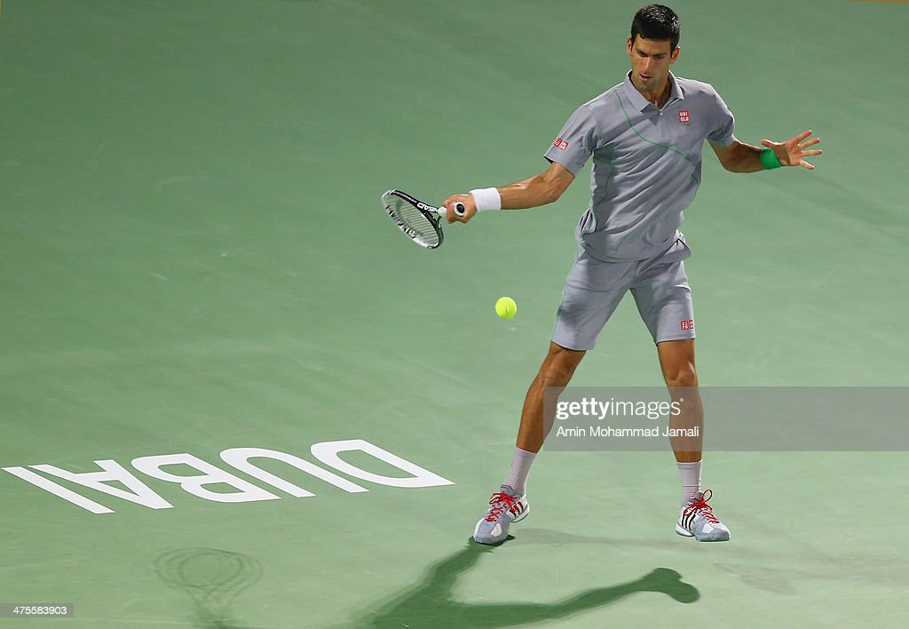 ATP Dubai Duty Free Tennis  Championship - Day Five : News Photo