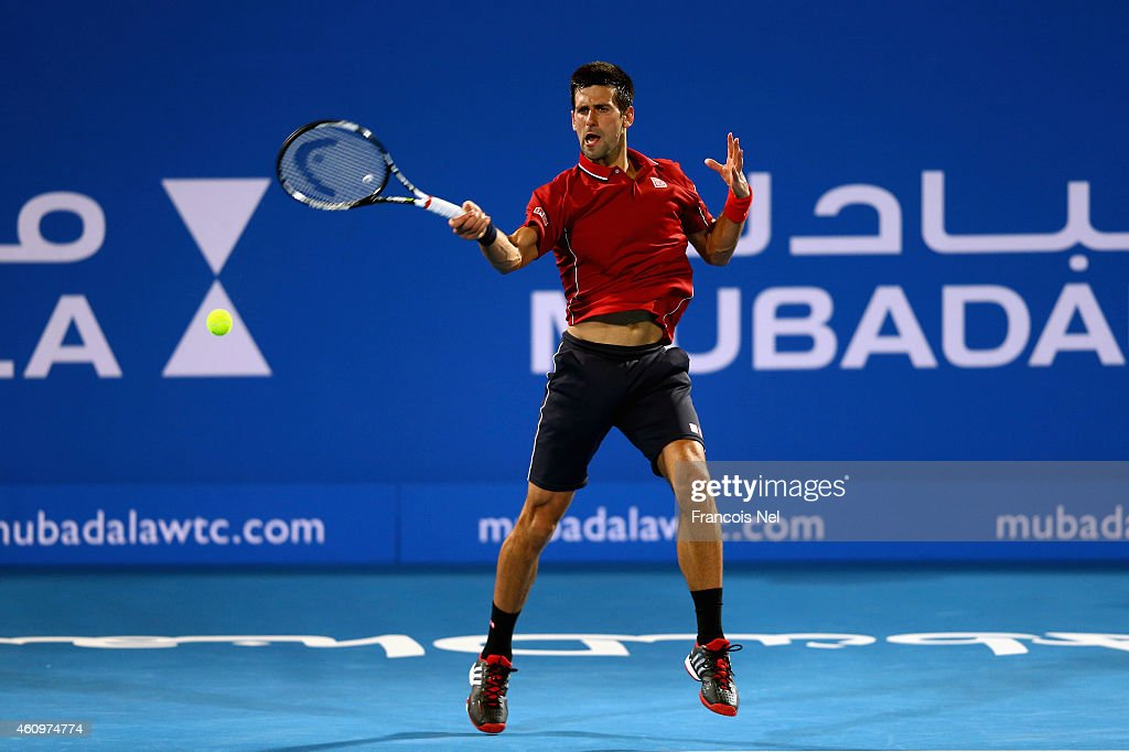 Mubadala World Tennis Championship - Day Two : Fotografía de noticias