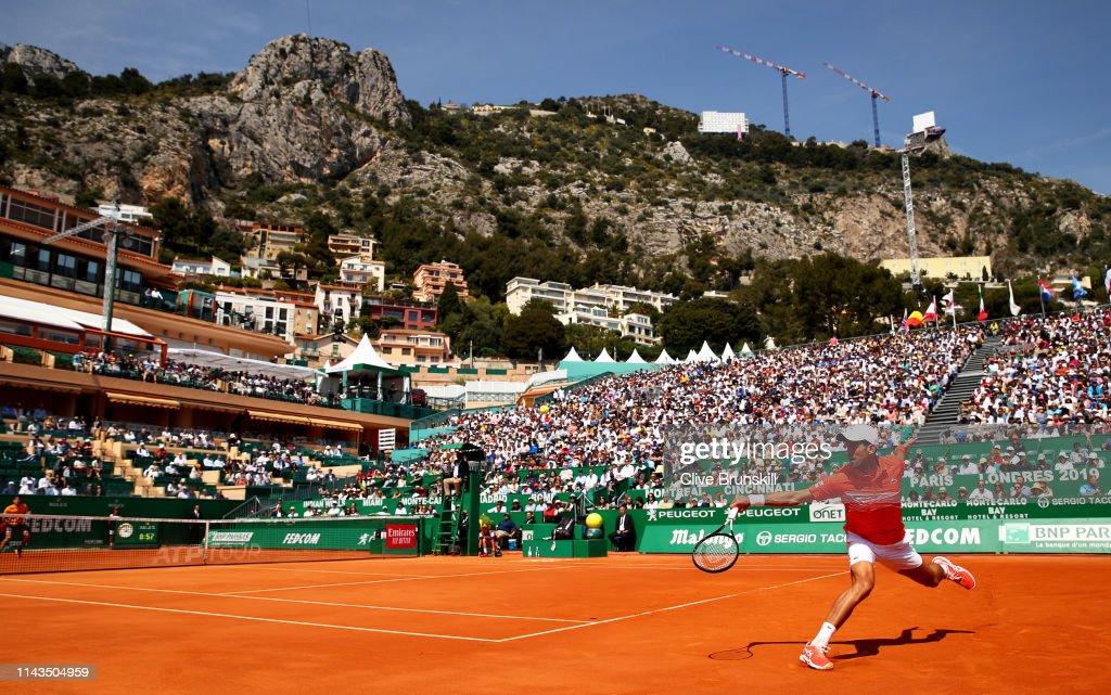 Rolex Monte-Carlo Masters - Day Five : ニュース写真