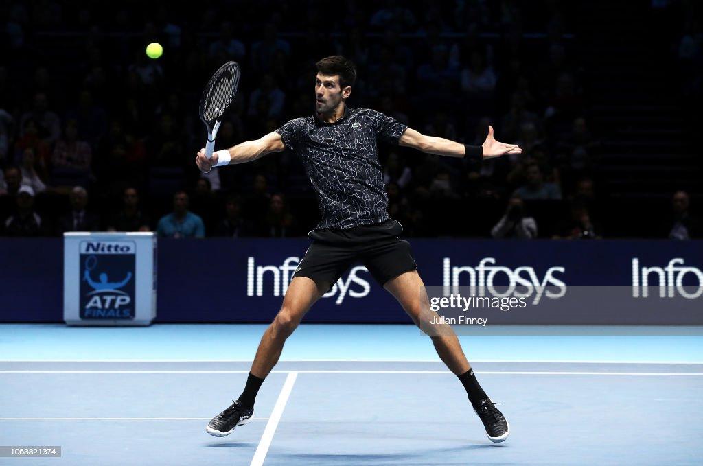 Nitto ATP Finals - Day Eight : Nachrichtenfoto
