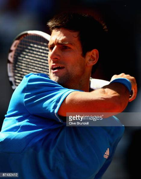 Novak Djokovic Of Serbia Plays A Forehand Follow Through Against News Photo Getty Images