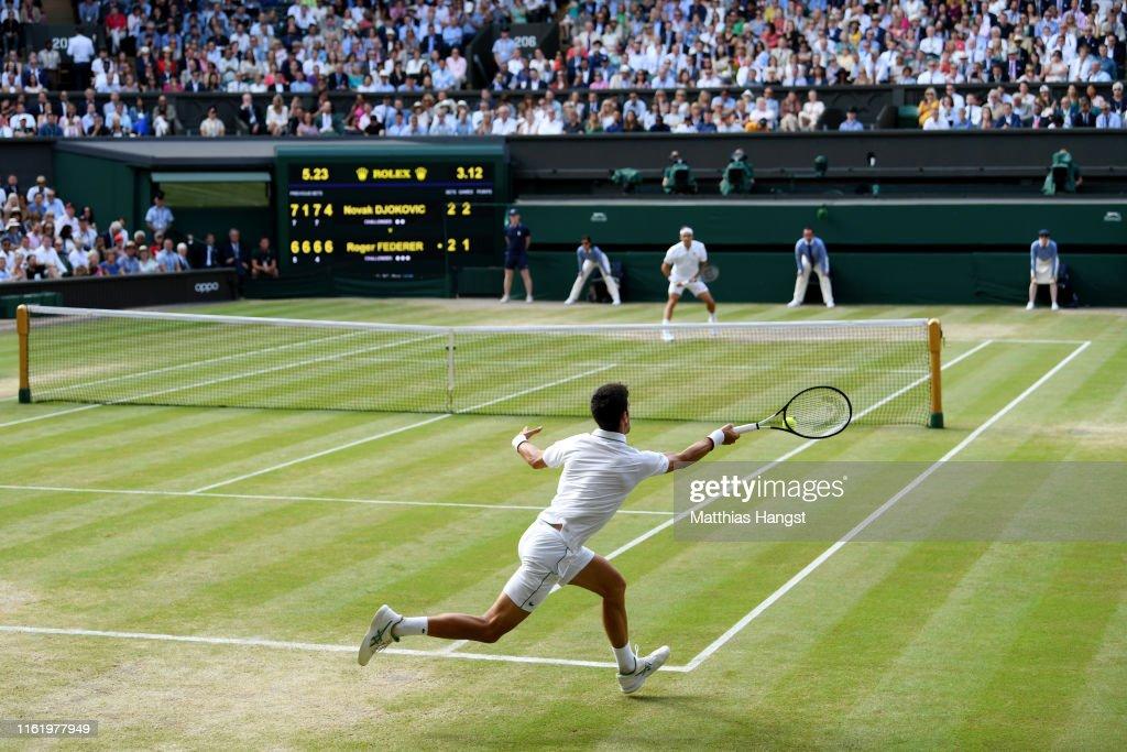 Day Thirteen: The Championships - Wimbledon 2019 : Fotografía de noticias