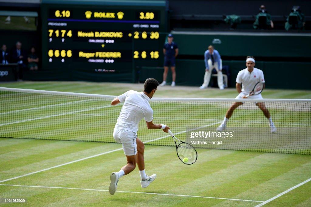 Day Thirteen: The Championships - Wimbledon 2019 : ニュース写真