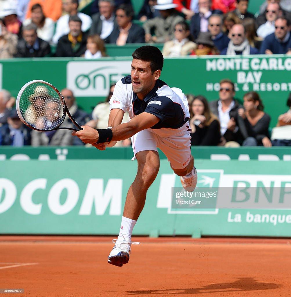 ATP Masters Series: Monte Carlo Rolex Masters - Day Seven : Nachrichtenfoto