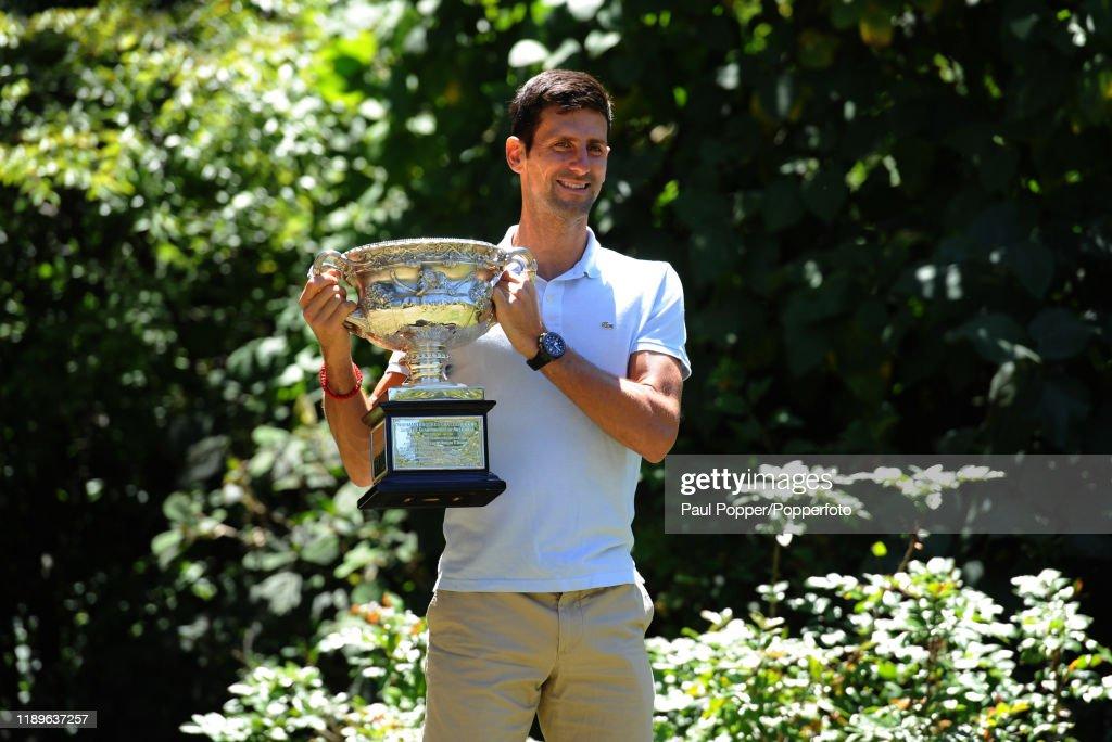 2019 Australian Open - Men's Champion Photocall : News Photo