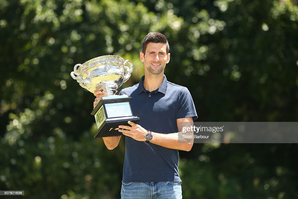 Australian Open 2016 - Men's Champion Photocall : News Photo
